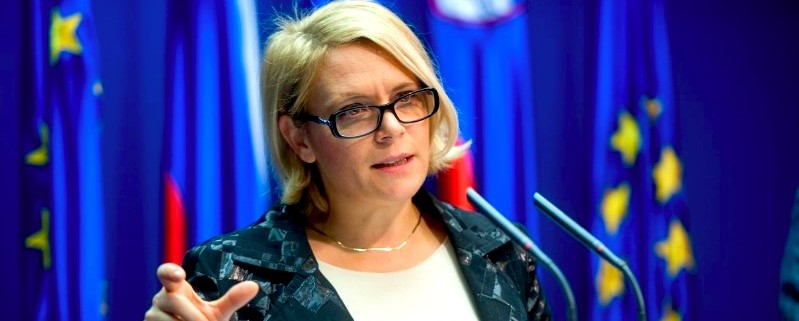 Anja Kopač Mrak po seji vlade