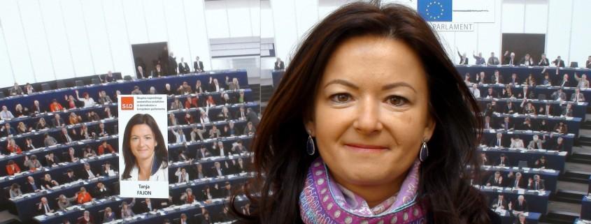 Tanja Fajon pred EP