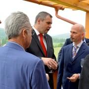 Židan in trije predsednik