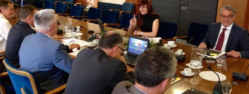 Andreja Katič na odboru DZ za obrambo