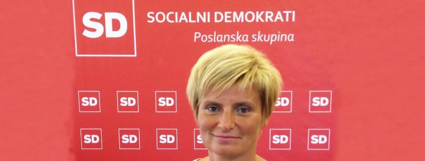 Bojana Muršič poslanka SD