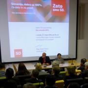Konferenca SD o ekonomski demokraciji