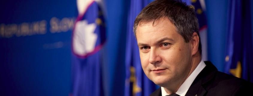 Minister Dejan Židan po vladi