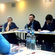Sonja Lokar na konferenci v Kijevu