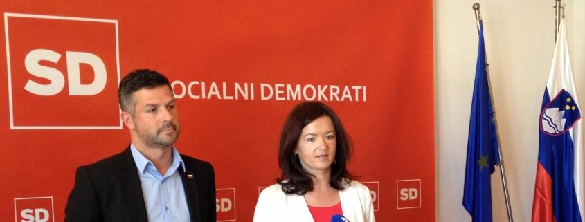 Tanja Fajon in Matjaž Nemec - izjava SD