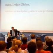 Dejan Židan na konferenci Agrobiznis