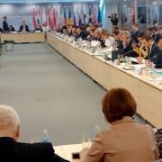 Minister Židan na zasedanju v Rigi