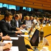 Tanja Strniša in Dejan Židan na Svetu ministrov EU v Luksemburgu