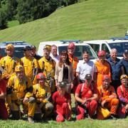 Ministrica Katič z jamarskimi reševalci
