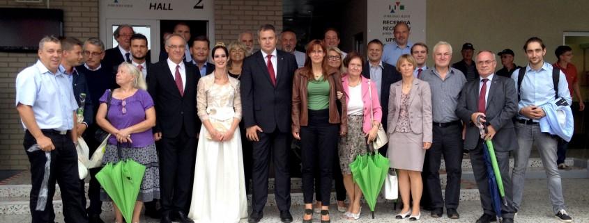 Delegacija SD na sejmu AGRA