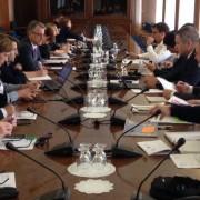 Delovno srečanje z župani SD v DZ