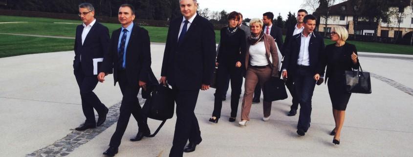 Ekipa SD ob prihodu na vrh koalicije