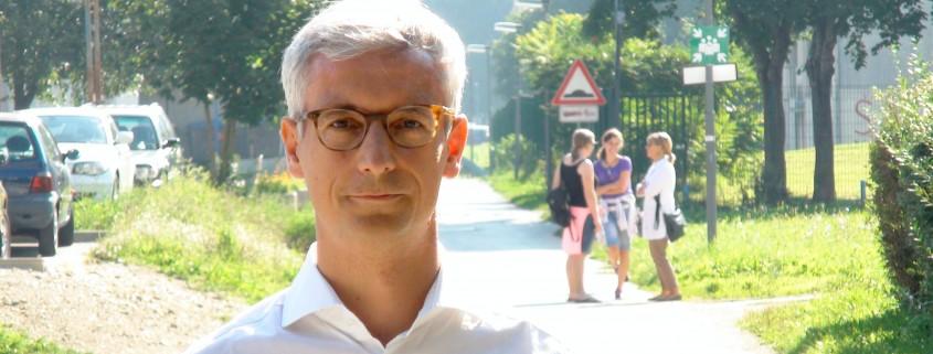 Jernej Pikalo ob prvem šolskem dnevu