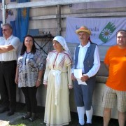 Miloš Bizjak in Ljubica Jelušič v Sežani