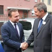Ministra Jureček in Židan