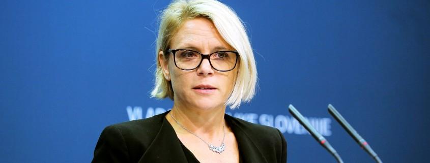 Ministrica za delo Anja Kopač Mrak
