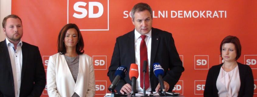 Predstavitev stališča SD do reševanje begunske krize