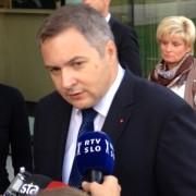 Židan in Katič v izjavi za medije