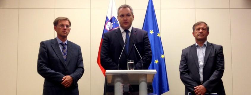 Predsedniki koalicijskih strank