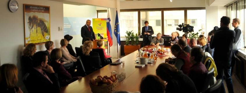 Židan o dnevu slovenske hrane