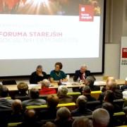 Franc Hočevar na Forumu starejših SD