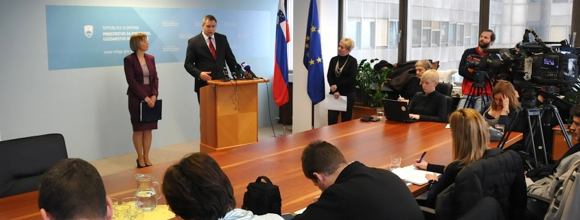 Židan in Strniša o prioritetah MKGV v 2016