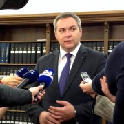 Predsednik SD Židan v izjavi za medije