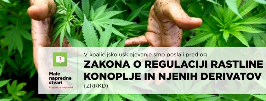 SD predlog Zakona o regulaciji rastline konoplje in njenih derivatov