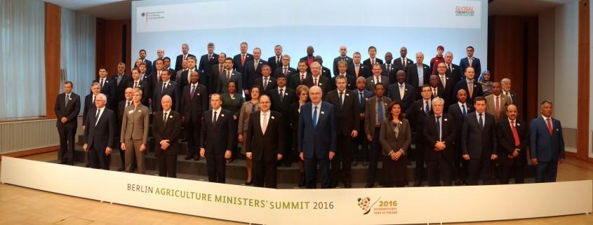 Vrh kmetijskih ministrov v Berlinu