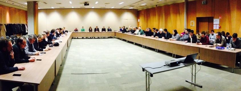 Klavzura vodstva SD v Ljubljani