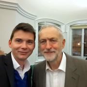 Dejan Levanič in Jeremy Corbyn