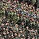 Slovenski vojaki na zboru SV
