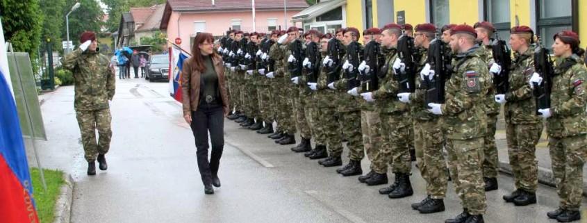 Katičeva ob dnevu SV v vojašnici Celje