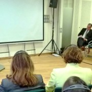 Židan na posvetu o gozdovih v Bruslju