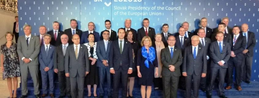 Kmetijski ministri EU v Bratislavi
