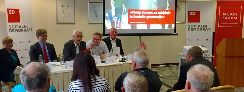 Konferenca Foruma starejših in Mladega foruma SD