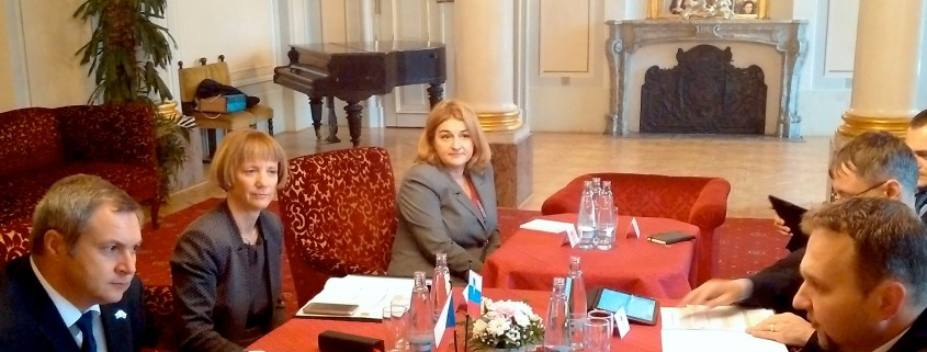 Bilateralno srečanje Židan in Jurečka