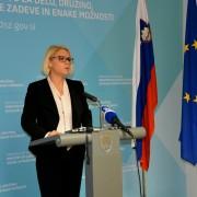 Ministrica Anja Kopač Mrak na MDDSZ