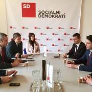 Srečanje SD - SDP