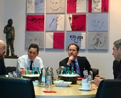 Sestanek Židan - Schulz