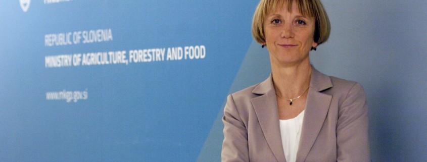 Tanja Strniša - državna sekretraka MKGP