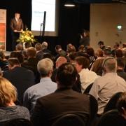 Židan na konferenci o čebelah v Berlinu