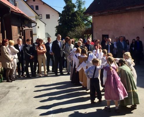 Kulturni program folklorne skupine OŠ Lovrenc
