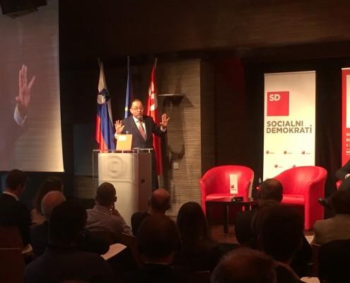 Konferenca SD - nagovor Gianni Pittella