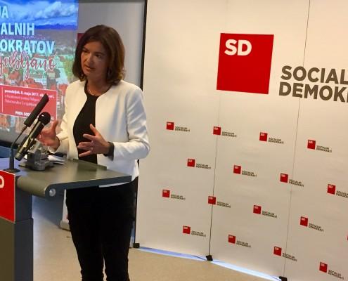 Tanja Fajon podpredsednica SD