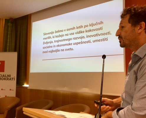 Konferenca SD - Patrick Vlačič