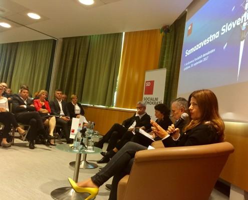 Konferenca SD - panelna razprava