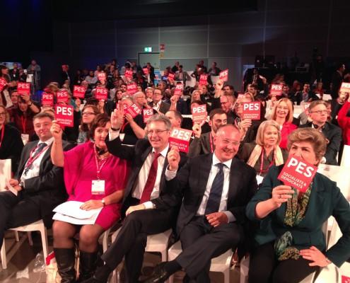 Glasovanje na zasedanju PES