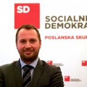 Poslanec Jan Škoberne