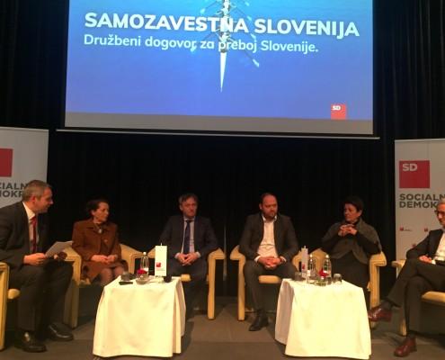 Posvet SD - Samozavestna Slovenija